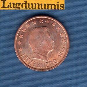 Luxembourg 2005 5 centimes SUP SPL provenant de rouleau - Luxembourg