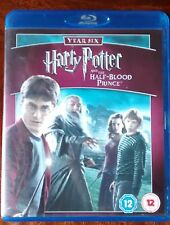 Harry Potter and the Half-Blood Prince, Blu-Ray, DVD, D Radcliffe & Emma Watson