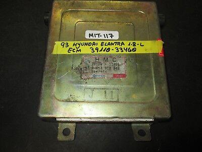 1993 Hyundai Elantra ecm ecu computer 39110-33450