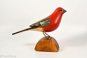 Jim-Slack-Songbird-Pine-Grosbeak-Signed-by-Artist-GH356