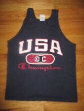 Vintage Champion Olympics USA Basketball (MED) Tank-Top Jersey