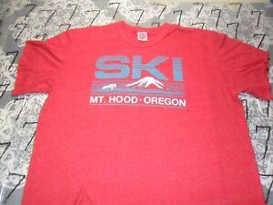 912418621b0 Image is loading 2XL-Cut-Sleeves-MT-Hood-Oregon-Heritage-Brand-