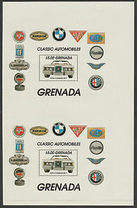 Grenada 2934 - 1983 MOTORING m/s from UNCUT PROOF SHEET unmounted mint