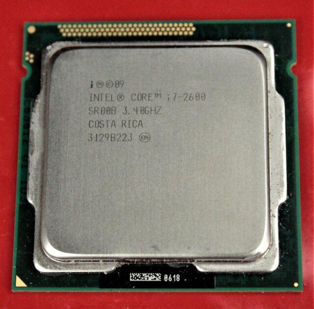 Intel SR00B Processor I7-2600 3.40 GHz Cores 4 EL1544