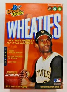 Roberto-Clemente-WHEATIES-SEALED-Cereal-Box-NIB-Rare-HTF