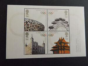 GB-MNH-STAMP-SHEET-2008-Olympic-Flag-Handover-Beijing-SG-MS2861-UMM