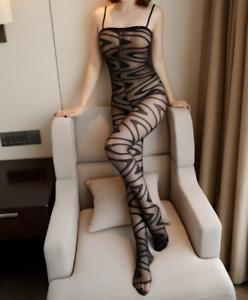 113-sexy-nylon-Catsuit-body-lenceria-netzbody-fishnetz-fetiche-club-Wear
