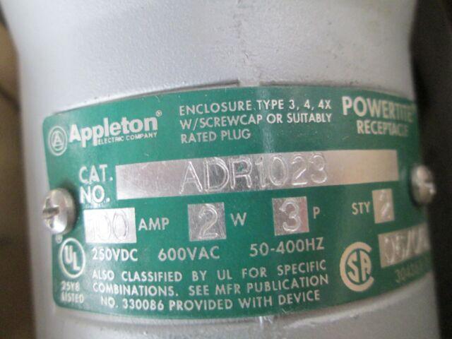 Appleton ADR1023 N 100a 2 Wire 3 Pole | eBay