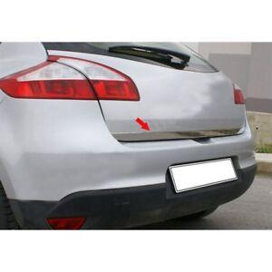 Renault Clio Hb MK4 Cromo Tapa Posterior Tronco Portón Trasero Moldeo Recorte S 2012 /> Acero