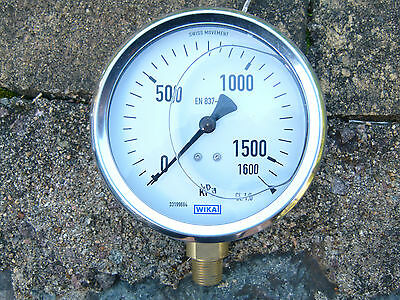Irrigation Equipment Independent Pressure Gauge Wikai