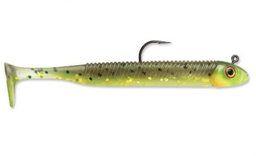 """Storm 360GT Searchbait Minnow Hot Olive 3.5/"""" 1//8oz 1 Rigged 2 Extra Bodies"""