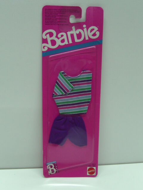 VINTAGE BARBIE 1989 FASHION FINDS DRESS MOC CLOTHES #2613