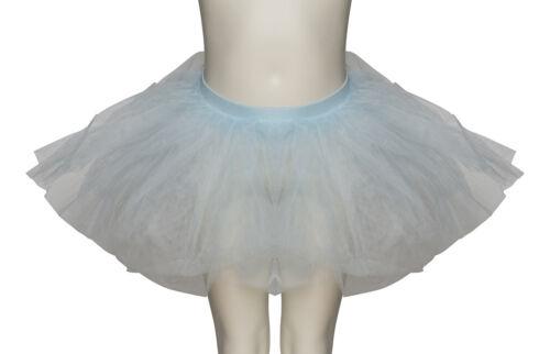 Pale Blue Premium Dance Ballet Tutu Skirt Childs Ladies Sizes By Katz Dancewear