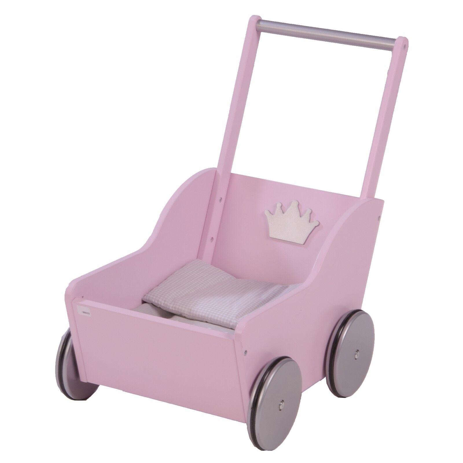 Roba Kids Puppenwagen Lauflernwagen Prinzessin Sophie Rosa    TOP e2ad10