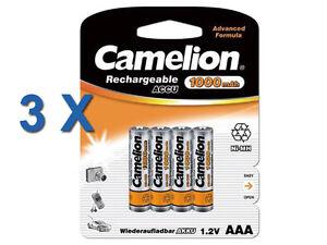 36-unidades-Camelion-AAA-Micro-Bateria-Ni-MH-1-2v-1000mAh-para-Siemens-gigaset