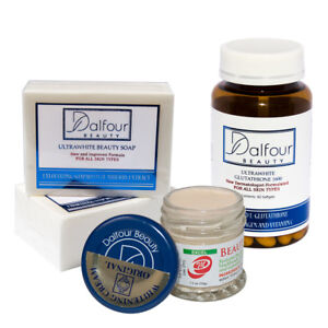 Dalfour Beauty Face Whitening Set With Ultrawhite Soap Cream Glutathione Caps 11711606191 Ebay
