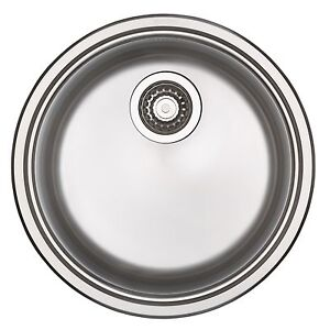 Blanco LARGE ROUND SINGLE INSET KITCHEN SINK Made in Germany, 23L ...