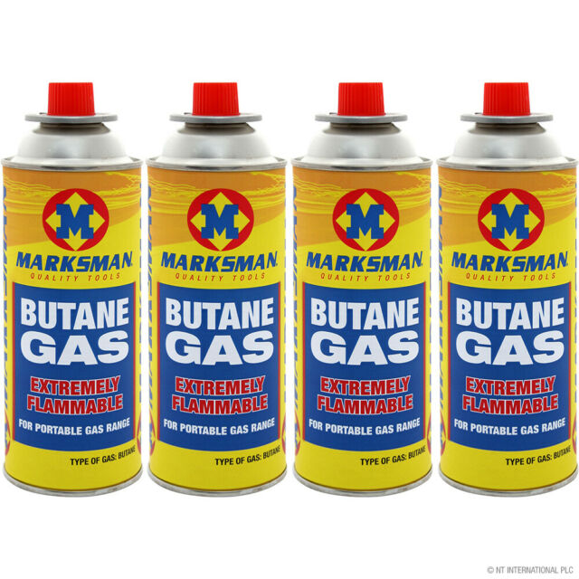 Butane Gas Canister Bottles Portable Gas Stove BBQ Camping Heater Grill Outdoor