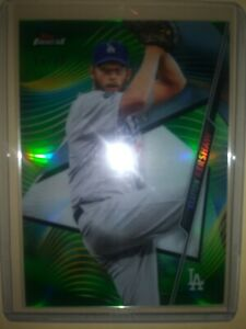 2020-Topps-Finest-Clayton-Kershaw-Green-Refractor-89-Los-Angeles-Dodgers-99