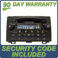 07 08 09 2010 HONDA OEM CRV CR-V Radio Stereo MP3 6 Disc Changer CD Player 1XN0