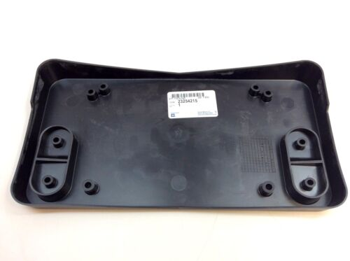 2017 2018 2019 Cadillac CTS Front Bumper License Plate Mounting Bracket new OEM