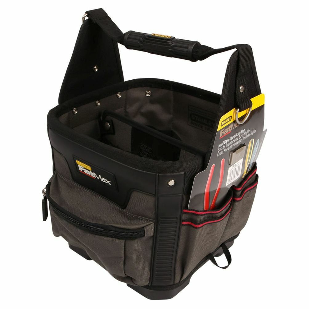 Stanley Fatmax Technician Tool Bag hard waterproof base