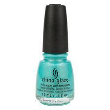 China Glaze Lacquer Nail Polish What I Like About Blue Brites Turquoise .5oz