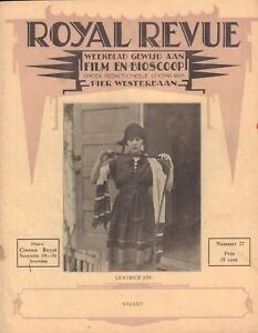 MAGAZINE-ROYAL-REVUE-1928-nr-27-LEATRICE-JOY-RENEE-ADOREE-OLGA-BACLANOVA