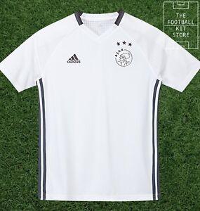 148951dc9bf Image is loading Ajax-Training-Shirt-Official-adidas-Football-Training-Top-