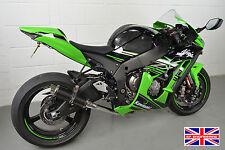 Kawasaki ZX10R 2016+ SP Engineering Carbon Stubby Moto GP (Decat) Exhaust