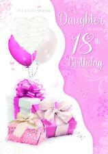STUNNING LARGE TOP RANGE GLITTERED BEAUTIFUL GRANDDAUGHTER 21ST BIRTHDAY CARD