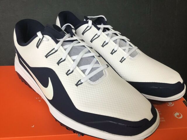 d6a53940c7be Size 10 Men s Nike React Vapor 2 Golf Shoes Bv1135 100 White Blue ...