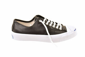 Chaussures 137 Cuir Taille Low Converse Purcell Jack Noir £ 7 Unisexe Bcf811 Uk Rrp SUqwg