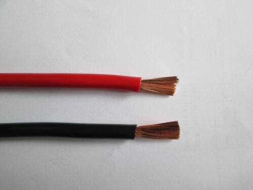 Ladekabel Starterkabel Batteriekabel H07V-K Meterware Stromkabel