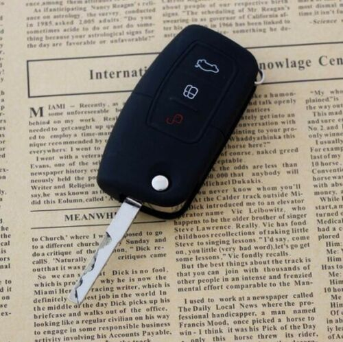 CB236* Remote Silicone Key Case Protective For Ford Fiesta Focus Mondeo Ecosport