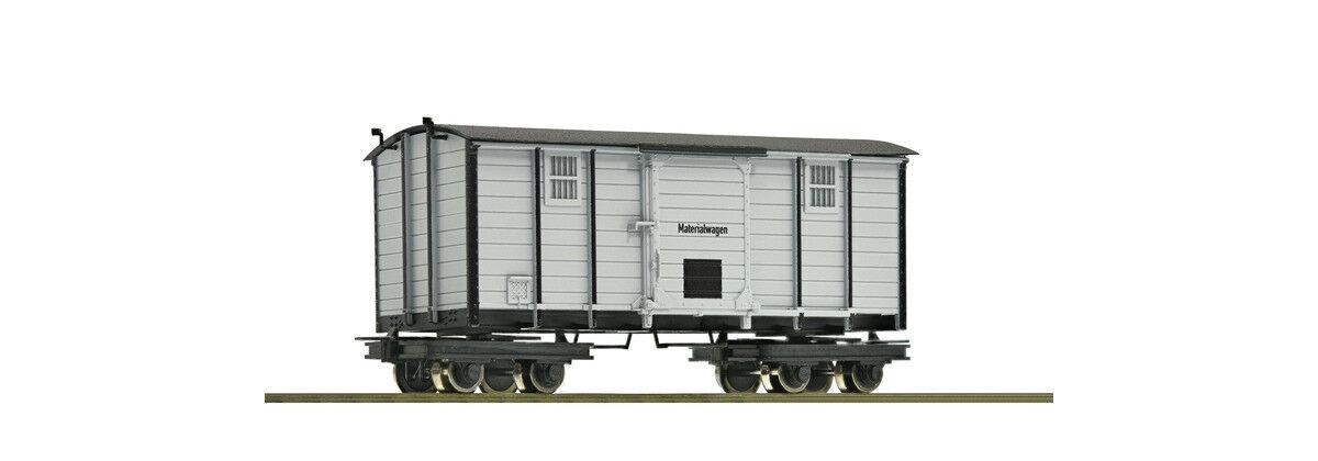 Roco 34065, Waldbahn Materialwagen, Neu und OVP, H0e