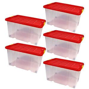 big dean eurobox deckel rollen 60x40x30cm stapel box boxen lagerkiste unibox ebay. Black Bedroom Furniture Sets. Home Design Ideas