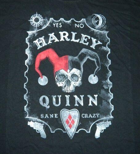 Batman Harley Quinn Ouija Board Sane Crazy Design T-Shirt Size Small NEW UNWORN