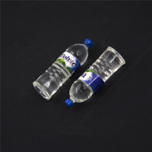 2pcs Bottle Water Drinking Miniature DollHouse 1:12 Toys Accessory CollectiBLCA