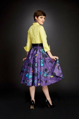 Pinup Couture Fortune Teller Skirt 3x