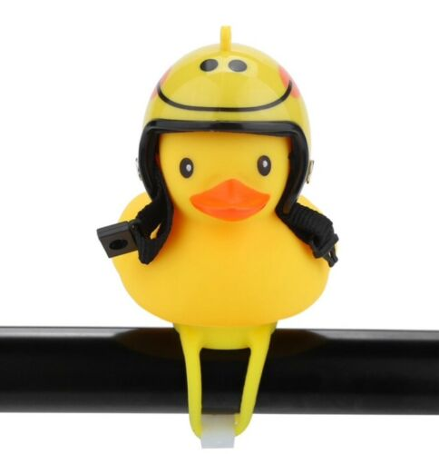 Bell Light Bike Bicycle Rubber Duck Horn Helmet Cartoon Handlebar Motorcycle Led