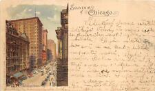 CHICAGO ILLINOIS RANDOLPH STREET TO BOHEMIA CZECHOSLOVAKIA PMC POSTCARD 1900