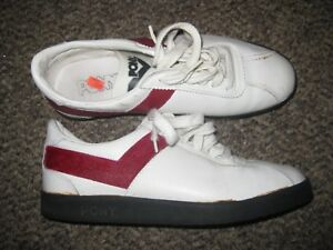 f84a8a52ec77 Details about Vintage Pony Leather Turf Coaching Shoes Men s Size 7