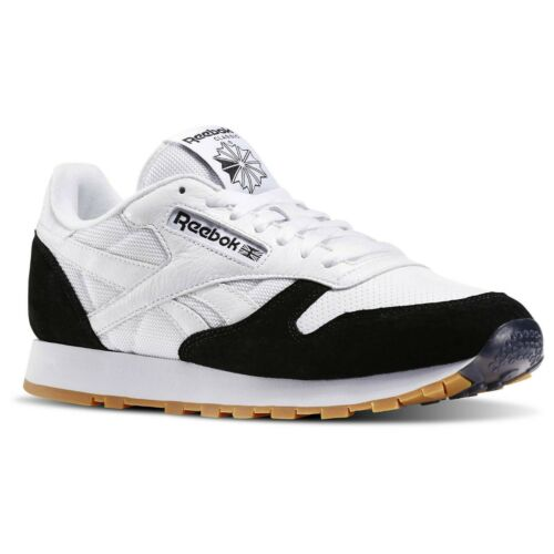REEBOK X KENDRICK LAMAR PERFECT SPLIT CLASSIC LEATHER TRAINERS SHOES SNEAKERS