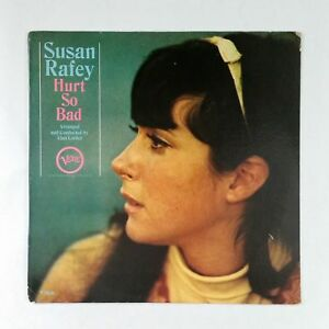 Susan Rafey Hurts So Bad V8636 Van Gelder Lp Vinyl Vg