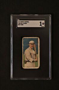 1910 Sweet Caporal T206 Bill O'hara New York SGC 1