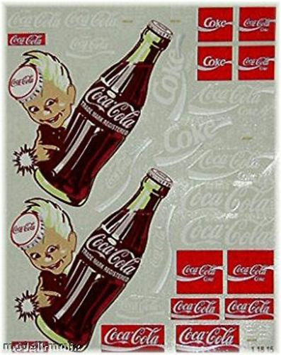 Coca Cola 3 Sponsoren Bogen 1:87 Decal Abziehbilder
