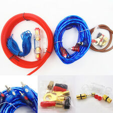 1500W 8GA Car Audio Subwoofer Amplifier AMP Wiring Fuse Holder Wire Cable Kits