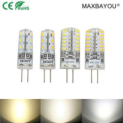 5X 10X 20X DC12V G4 Led Capsule Lights Bulb 2W 4W 3014SMD Cool White Warm White