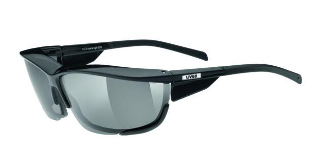 cc90054bd81b4 Uvex SGL 400 Sunglasses Sports Eyewear Black Silver Pola Polarized  R5305122250